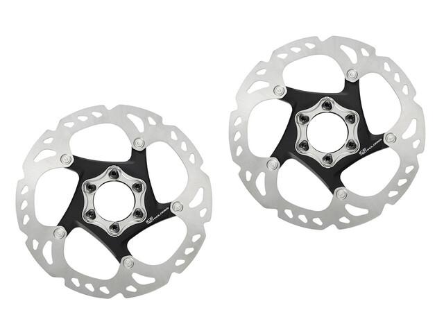 Shimano Deore XT SM-RT86 Bremsscheiben-Set Ice-Tech silber